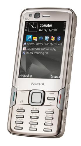 Nokia N82 - nový král řady N