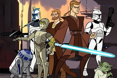 The Clone Wars 2D