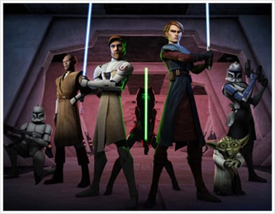 The Clone Wars 3D