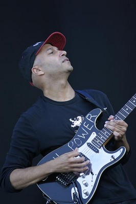 Tom Morello - kytarista Audioslave